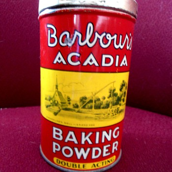 Barbour's Baking Powder Tin