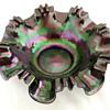 Possibly Kralik, Loetz or Rindskopf Martele Purple Bridal Bowl