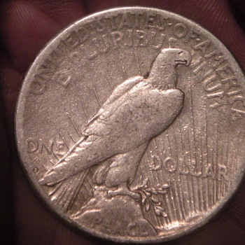 1922 Silver Dollar - US Coins