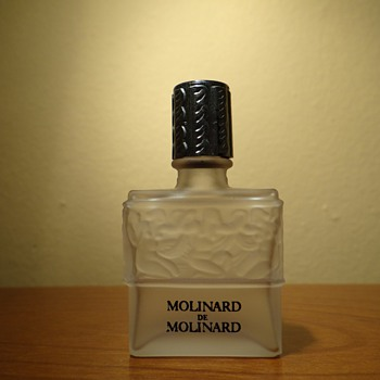 VINTAGE  MOLINARD DE MOLINARD - CREATION  LALIQUE FRANCE  - Bottles