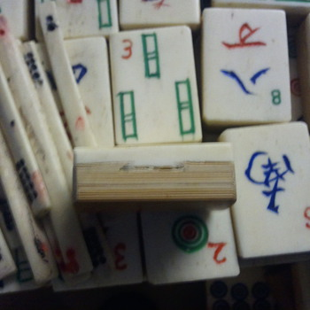 Mahjong set