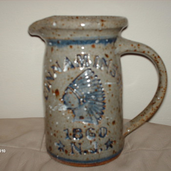 Please  Identify  my  Pitcher - Art Pottery