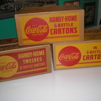 Coca-Cola Cartons, Crates, Carriers...
