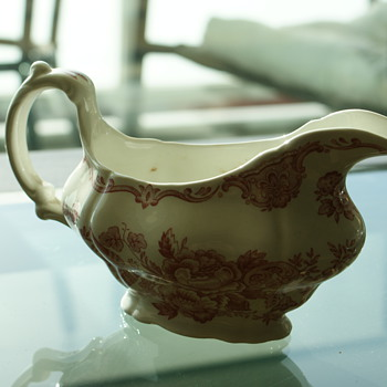 Antique Gravy Boat - Ridgway of Staffordshire England - China and Dinnerware