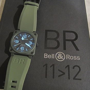 Bell &amp; Ross BR 03-92 Ceramic Military Type