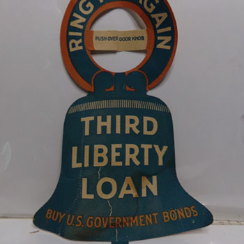 Third Liberty Loan? - Military and Wartime