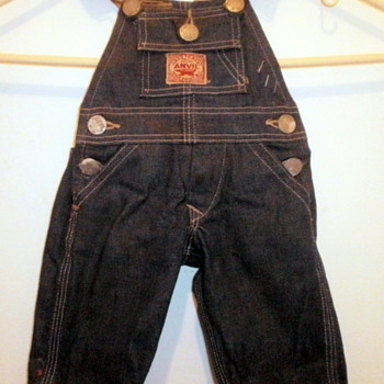ANVIL OVERALLS SALEMSMAN SAMPLE