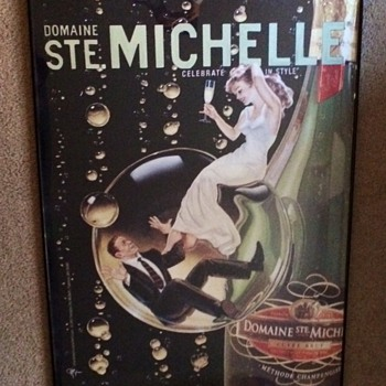 "Domaine Ste. Michelle Winery ""Celebrate""  Poster / C. Hopkins 2004"
