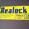 Realock CF&I Porcelain Fence Sign