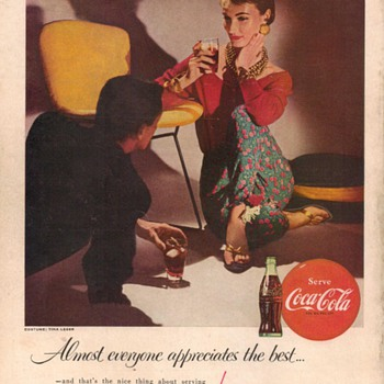1955 - Coca Cola Advertisement - Advertising