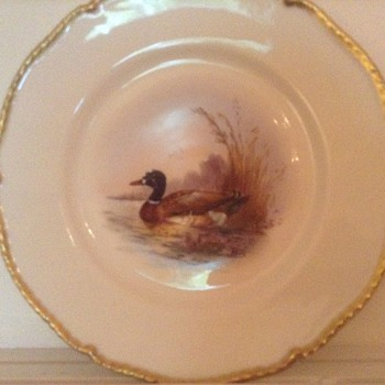 FAVRE BIRD PLATES - China and Dinnerware
