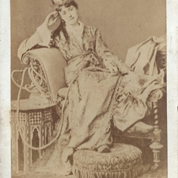 """A Circassian Beauty"" CDV by Uncredited Studio"