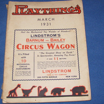 Playthings Toy Magazine, March 1931 - Paper