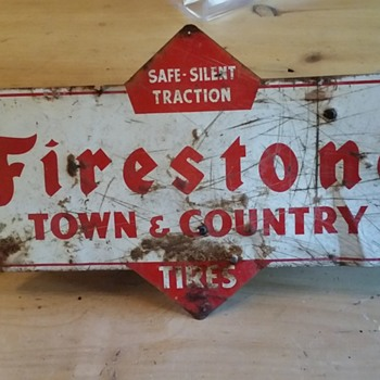 Firestone Town & Country Sign - Signs