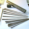 Long Conical Flanged Metallic Points