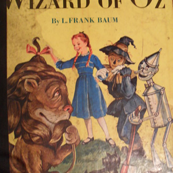 1950- wizard of oz - Books