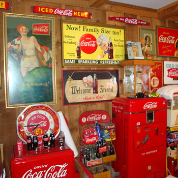 More of my coke room - Coca-Cola