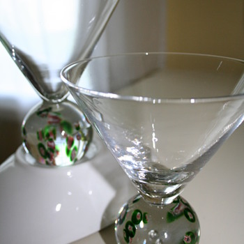 Murano Cocktail Glasses