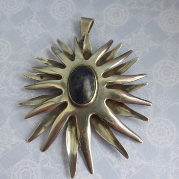 Sunburst Pendant  - Fine Jewelry