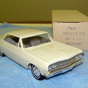 Chevelle, Impala, Corvair and Corvette Dealer Promotional Models