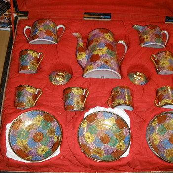 My (Pre WW2 )Japanese Coffee set .