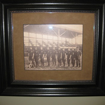 Shoeless Joe Jackson 1907 team picture