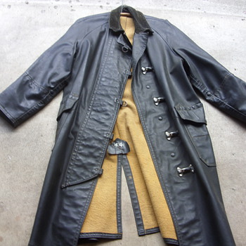 ww2 era firemans turnout coat - Firefighting