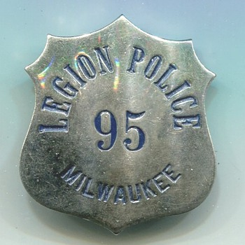 American Legion Police Badge
