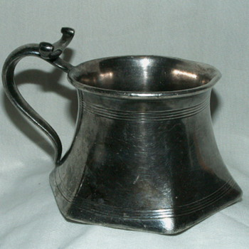 "Antique Homan Mfg. Company 2782 ~Special Metal~ ""Barber's Mug"" - Kitchen"