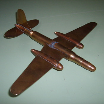 TRENCH ART  AIRPLANE
