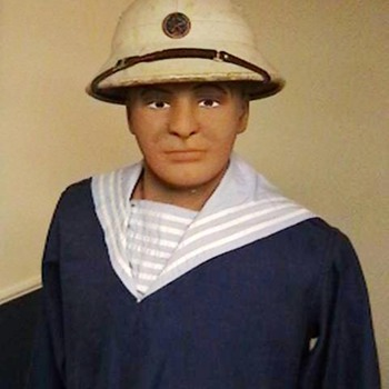 North Vietnamese Navy Jumper and Pith Helmet