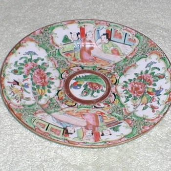 "Rose Medallion 6"" Plate"
