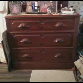Victorian Chest of Drawers - Furniture
