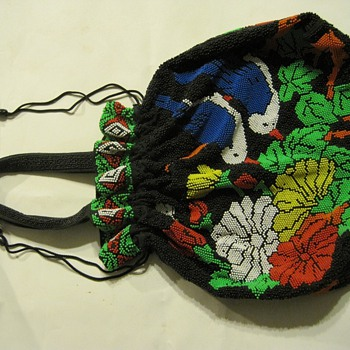 My beautiful beaded bag