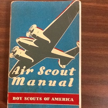 Air Scout Manual (1942) - Boy Scouts of America - Sporting Goods