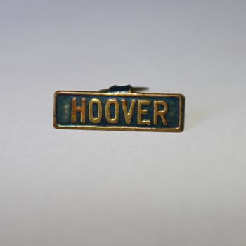 Herbert Hoover 1920's Campaign Lapel Pin Button