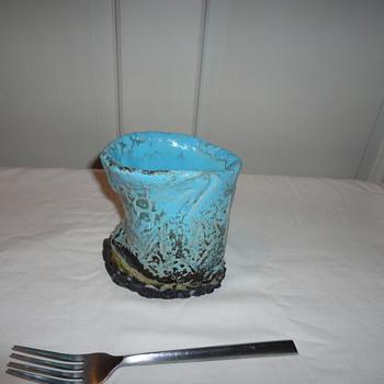 Unique Art Glass Vase - Visual Art