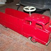 Vintage Push Car Fire Truck