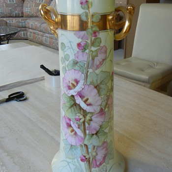 Bavarian China Vase