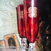 Ruby Red Stemware