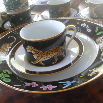 Lynn Chase Jaguar Jungle China Sets - China and Dinnerware