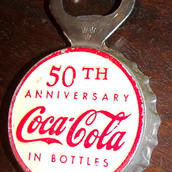 1950-52 Coca-Cola Bottle Cap Opener - Coca-Cola