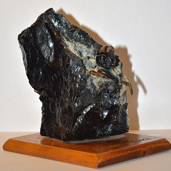 Coal Miner Statue - Visual Art