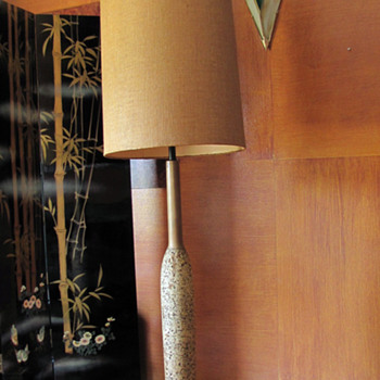 Eames Still Cork Floor Lamp