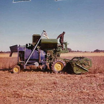 Home built-experimental combine