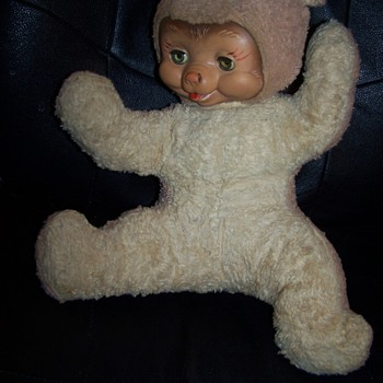 My ALGY bear was a Christmas present in 1955. - Dolls