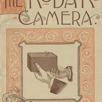 Vintage Kodak Catalog Covers - Cameras
