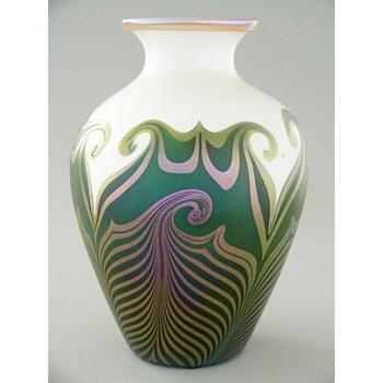 A fine Quezal vase