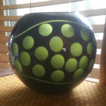 Mystery Globe Vase - Art Glass