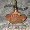 Miniature cook stove.